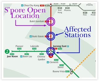 MRT disruptions during Singapore Open weekend | Singapore Athletic ...