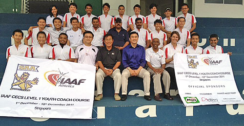 IAAF Level 1 Youth Coaching Course