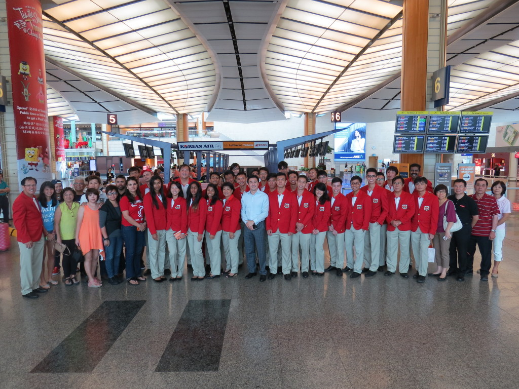 2013 SEA Games Myanmar sendoff