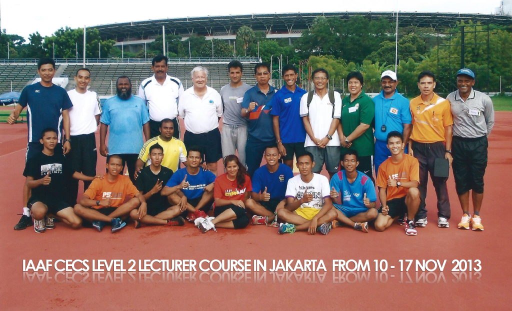 IAAF CECS level 2 lecturer course 2013