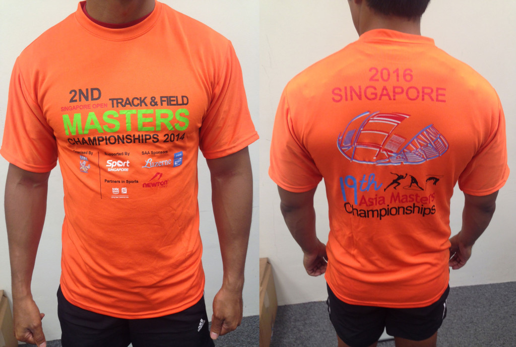 Singapore Masters Open Track & Field Championships 2014