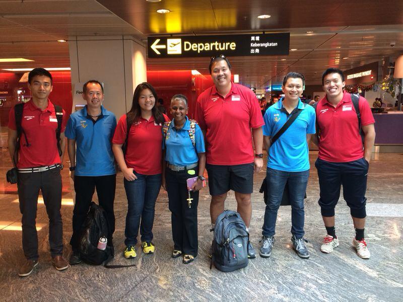 Vietnam Open 2014 Singapore team