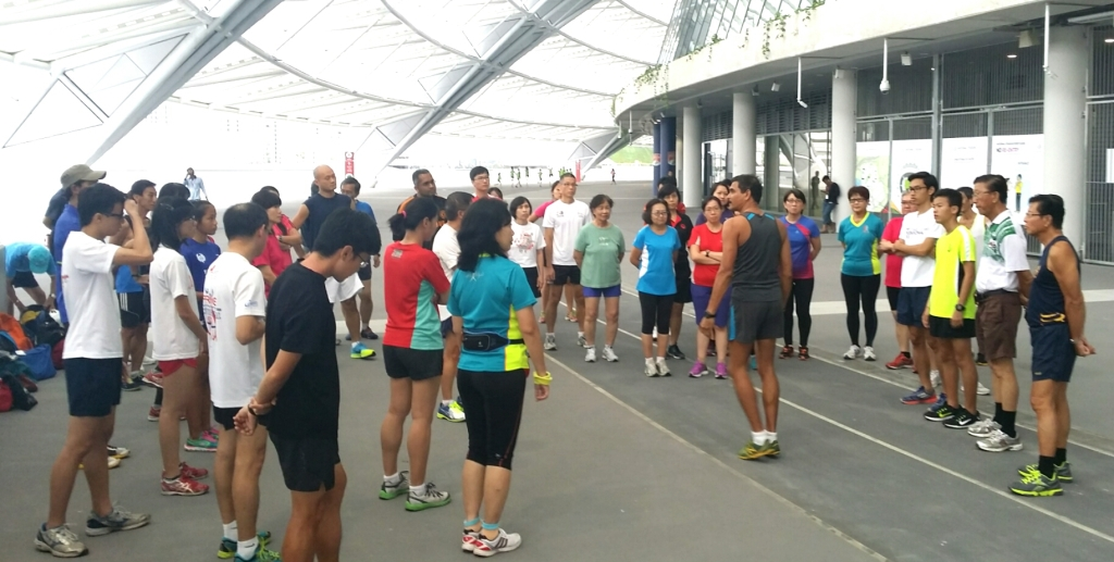 Race Walk Coaching Workshop 2014 3
