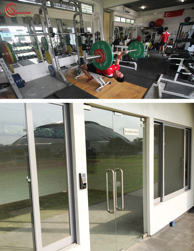 Hoa gym where singapore elite high performance athletes