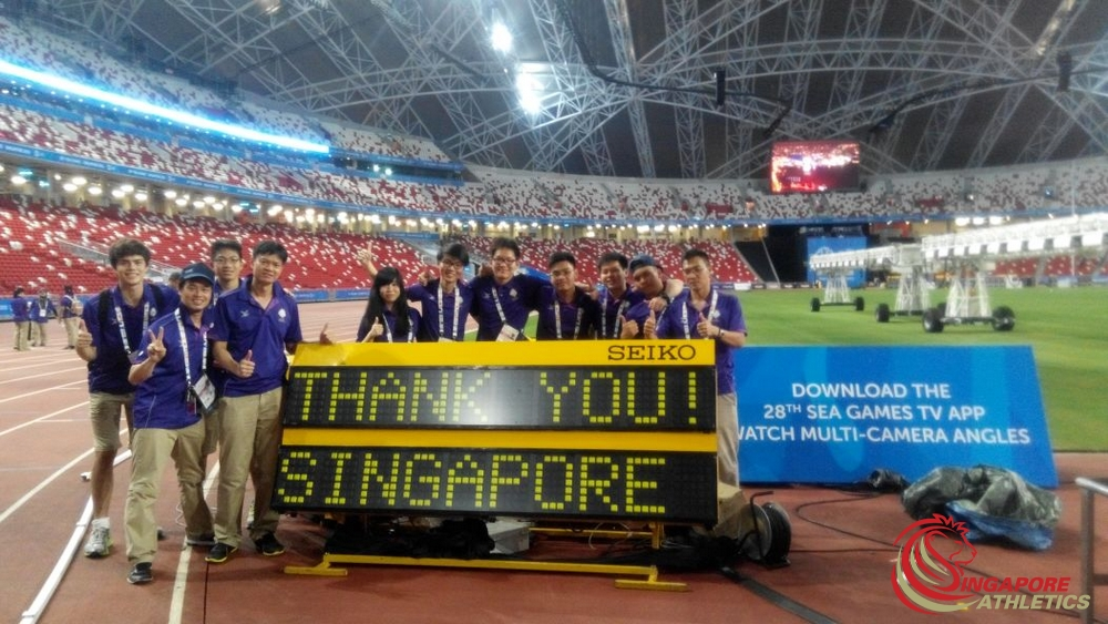 SEA Games Thank you SEIKO ATOS Volunteers -1