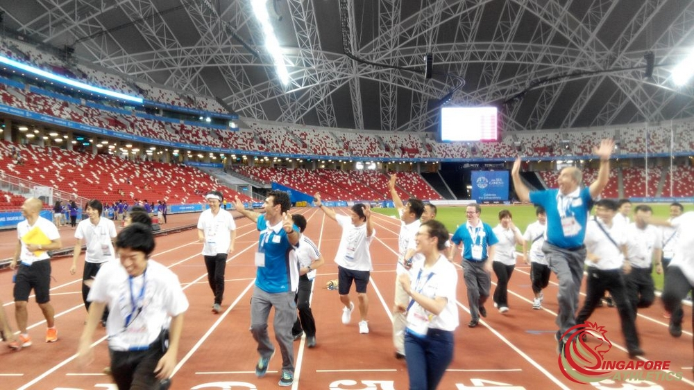 SEA Games Thank you SEIKO ATOS Volunteers -2