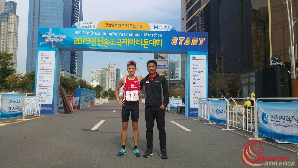 Incheon Songdo International Marathon 2015 -3