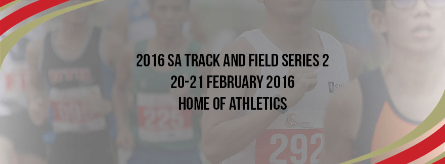 2016 SA Track and Field Series 2