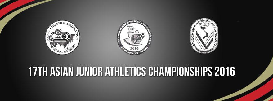 17th Asian Junior Athletics Championships 2016