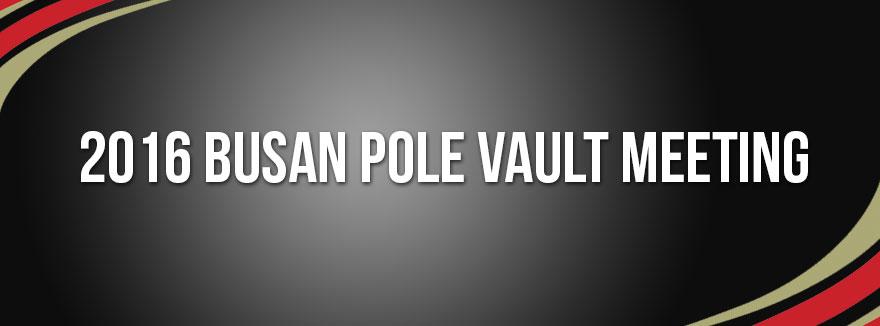 2016 Busan Pole Vault Meeting