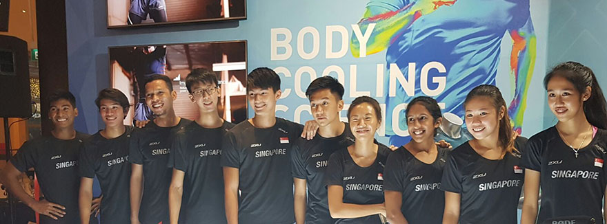 2XU Grand Opening at Suntec City