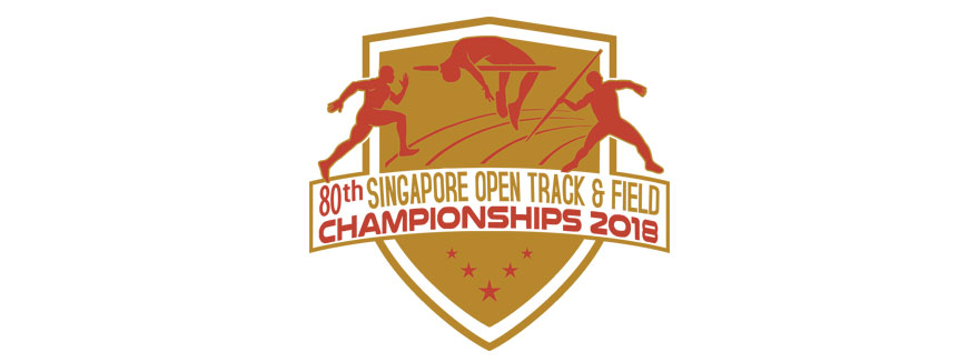 80th Singapore Open Track & Field Championships 2018