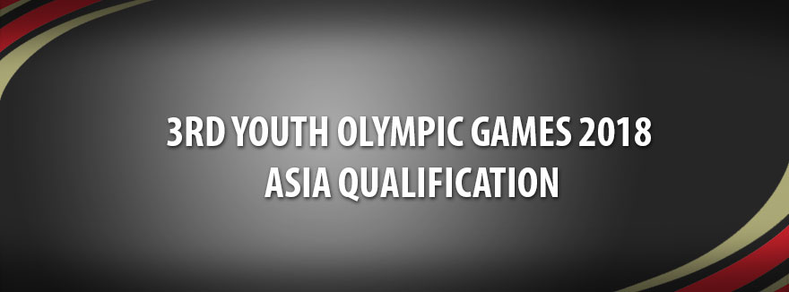 3rd Youth Olympic Games 2018 - ASIA Qualification
