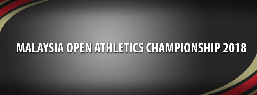 Malaysia Open Athletics Championship 2018