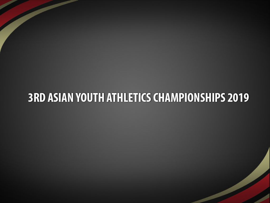 2019 Asian Youth Athletics Championships