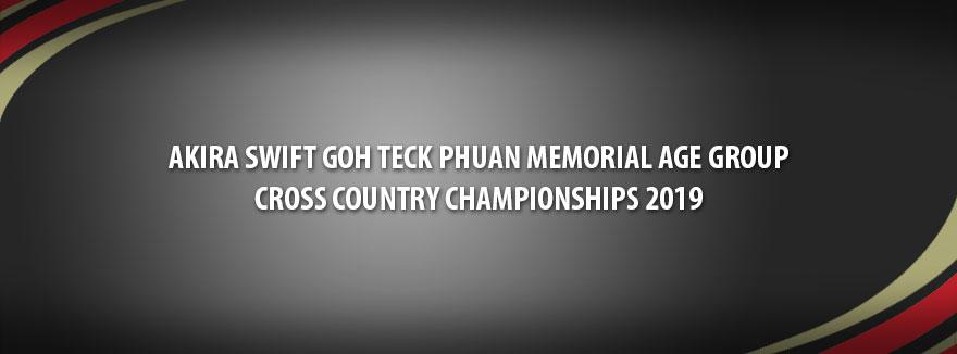 Akira Swift Goh Teck Phuan Memorial Age Group Cross Country Championships 2019