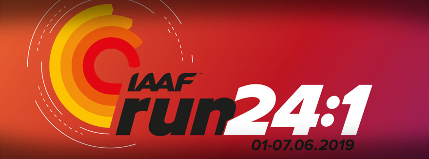 "2nd IAAF ""Run 24-1"" – Global Running Day"