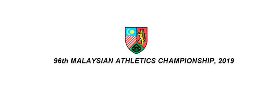 96th Malaysian Athletics Championship 2019