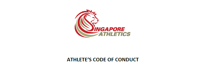 Athlete's Code of Conduct