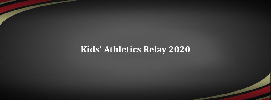 CANCELLED – Kids' Athletics Relay 2020