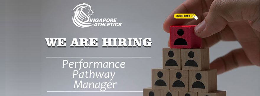 Career Opportunity at Singapore Athletics – Performance Pathway Manager