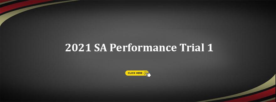 2021 SA Performance Trial 1